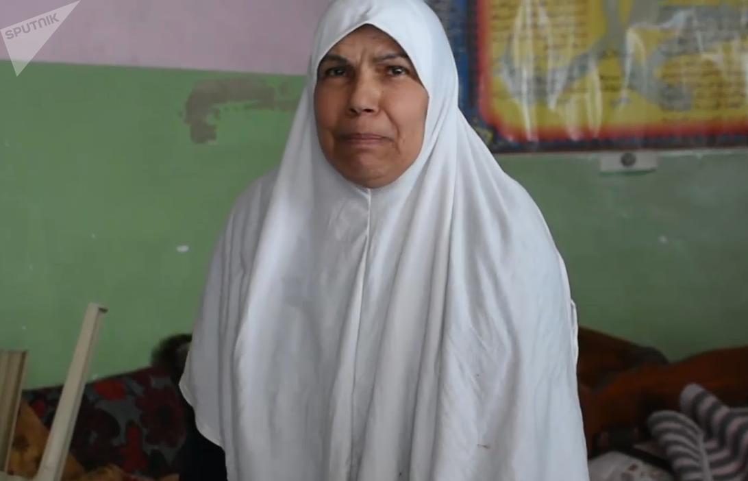 Um Ammar, residente del barrio Al Mankuba