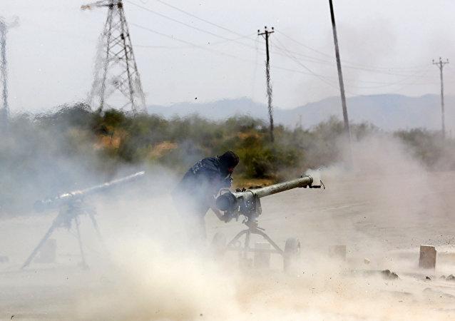 Lanzagranadas antitanque SPG-9 (imagen referencial)