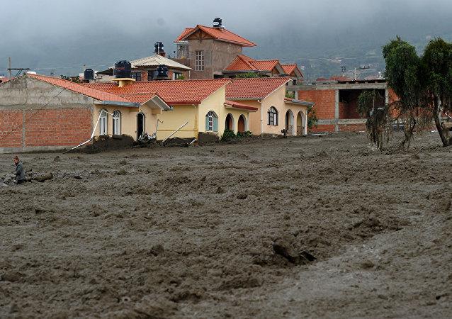 Inundaciones en Bolivia
