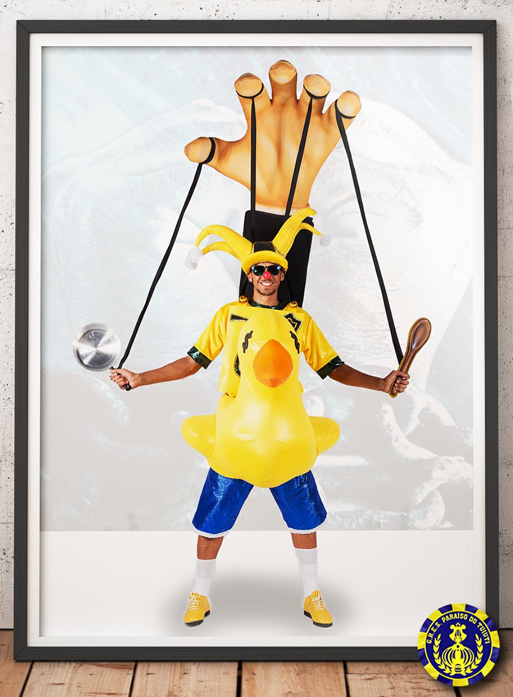 Disfraz de la escuela de samba Paraíso de Tuiuti