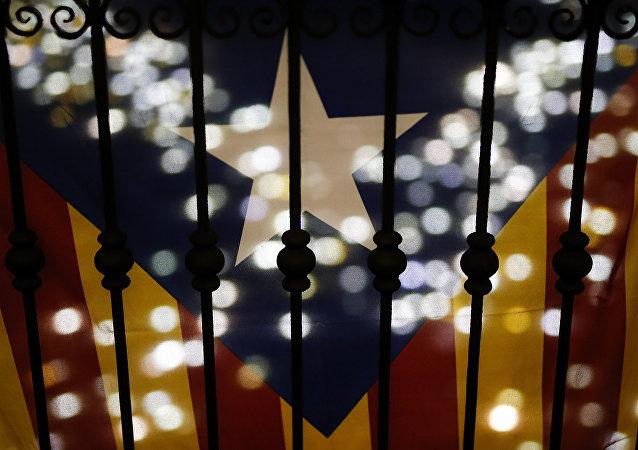Estelada, bandera separatista de Cataluña