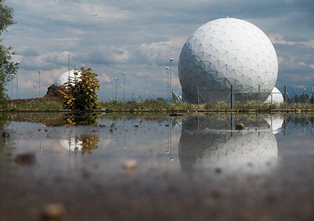 Un radar, foto de archivo