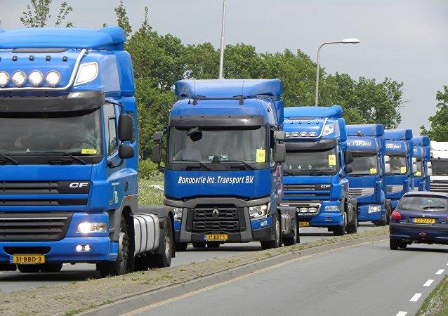 Camiones (imagen referencial)