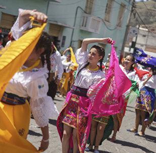 Carnaval en Guaranda, Ecuador