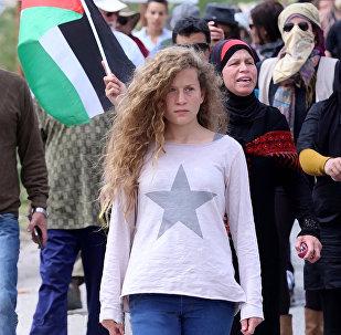 Ahed Tamimi, la activista palestina de 17 años sometida a juicio militar ante el Ejército de Israel