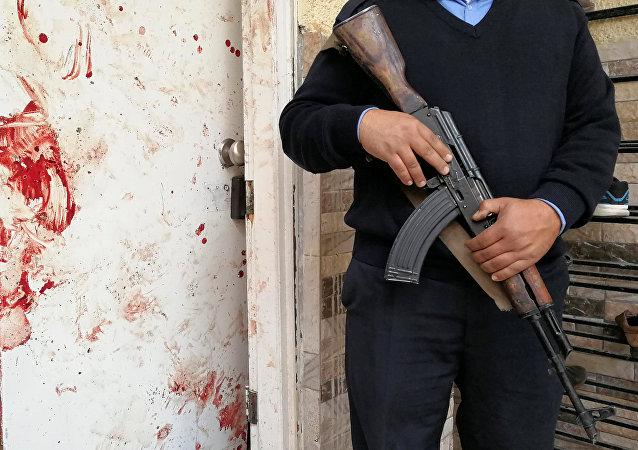 Explosión en una mezquita en la ciudad de Bengasi, Libia