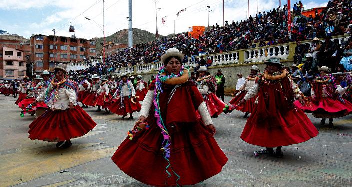 Carnaval en Oruro, Bolivia