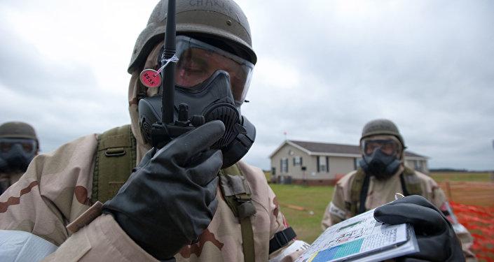 Un experto en armas químicas (imagen referencial)