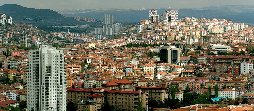 Ankara, capital de Turquía