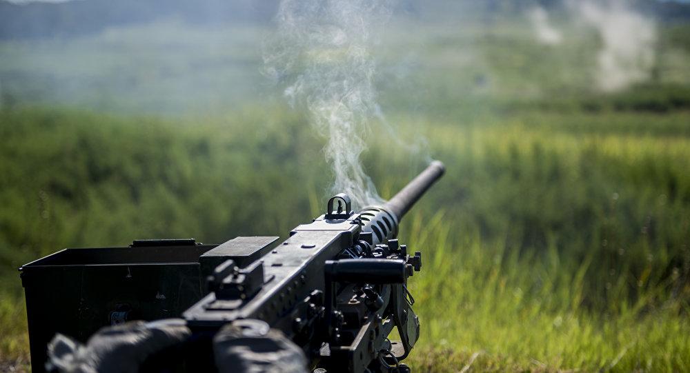 Un M2 Browning estadounidense (archivo)