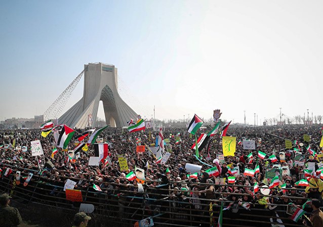 El 39º aniversario de revolución islámica, Teherán, Irán