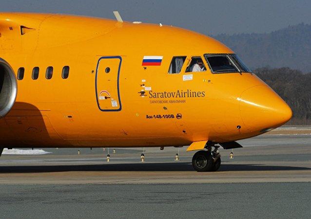 Un An-148 de Saratov Airlines