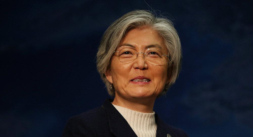Kang Kyung-wha, ministra de Asuntos Exteriores de Corea del Sur