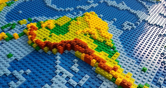 CC BY 2.0 / DIRKB86 / DIRKS LEGO WORLD MAP 18 CLOSEUP SOUTH AMERICA Nueva Ruta de la Seda de China, próxima parada: América Latina