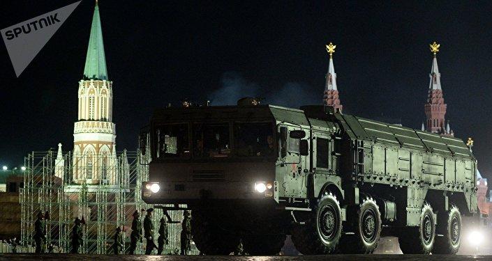 Sistema de misiles tácticos Iskander-M