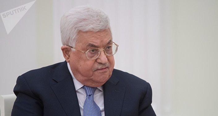 El presidente de la Autoridad Palestina, Mahmud Abás (archivo)