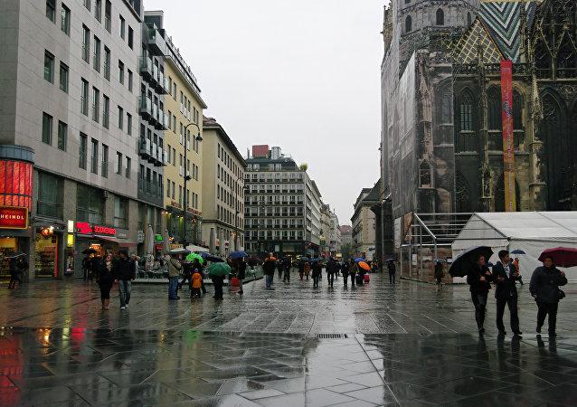 Una de las calles de Viena, capital de Austria (imagen referencial)