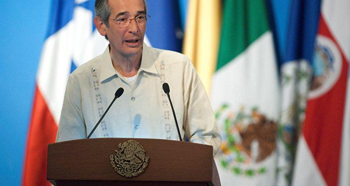 Álvaro Colom, expresidente de Guatemala (archivo)