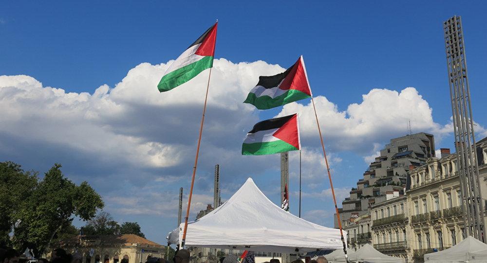 Banderas de Palestina (archivo)