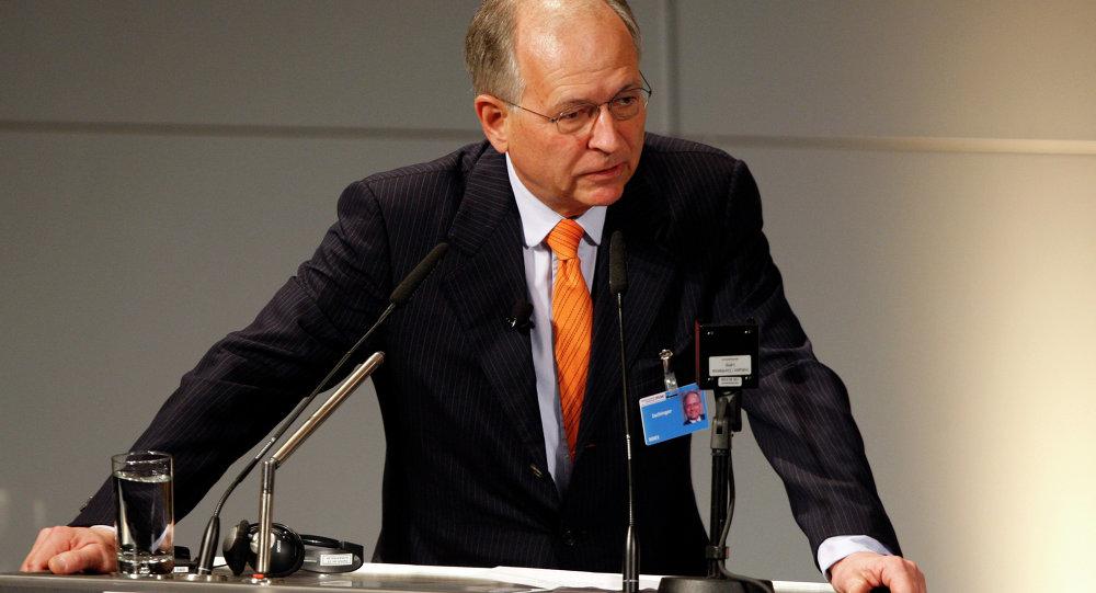 Wolfgang Ischinger, el presidente de la Conferencia Internacional de Seguridad de Múnich