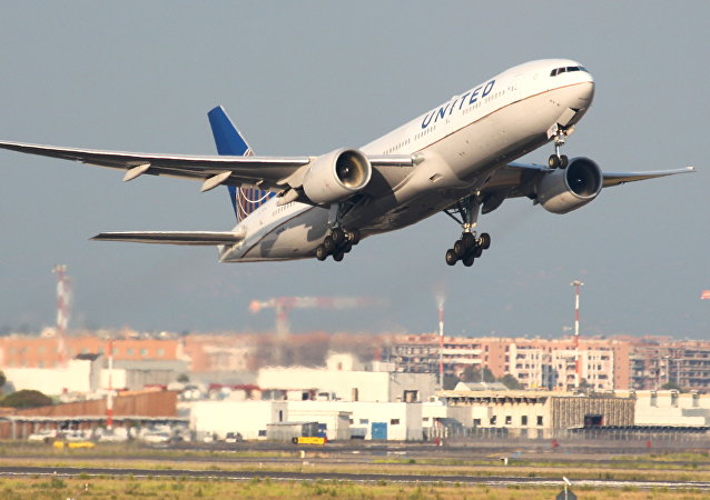 Un Boeing 777 de United Airlines