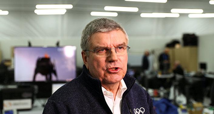 Thomas Bach, el presidente del Comité Olímpico Internacional
