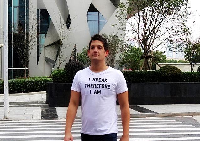 Juan Pablo Fung Collazo, creador de la empresa Dirstuff
