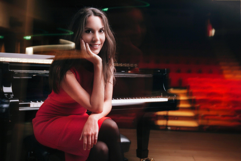 Gloria Camper, pianista italiana ganadora del Premio Speciale Prokofiev.