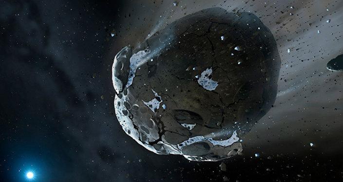 Asteroide (impresión artística)