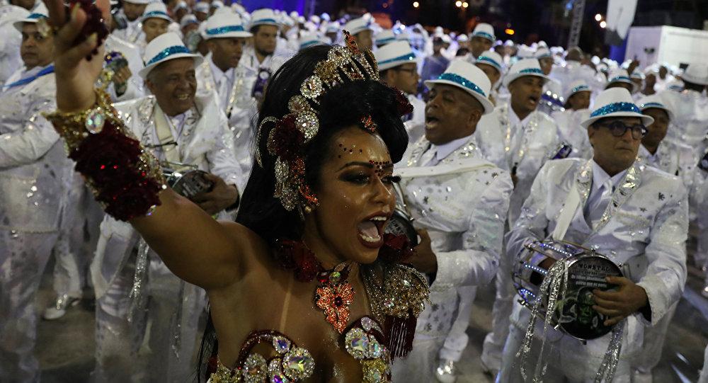 Carnaval en Río de Janiro