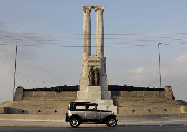 Monumento al Maine en La Habana