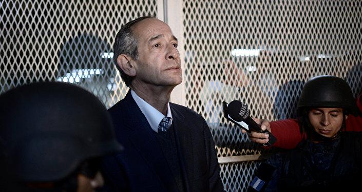 Álvaro Colom, expresidente de Guatemala