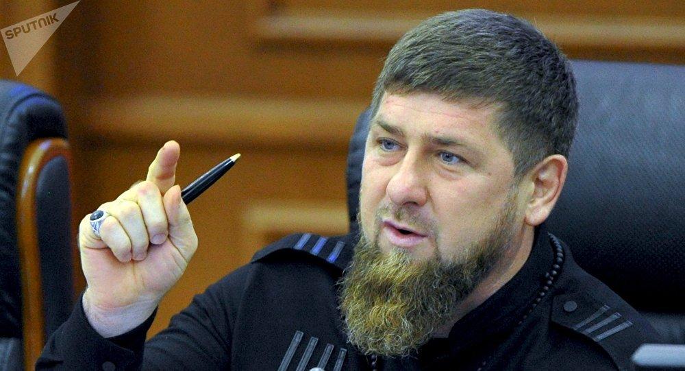Ramzán Kadírov, líder de la república rusa de Chechenia (archivo)