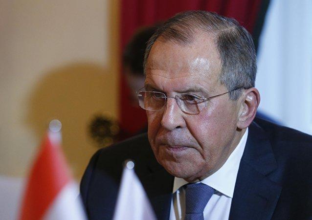 Serguéi Lavrov, el ministro ruso de Asuntos Exteriores en la Conferencia de Múnich
