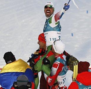 Germán Madrazo, esquiador mexicano