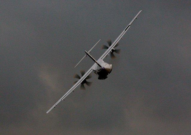 Un avión ATR 72 (imagen referencial)