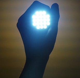 Una linterna (imagen referencial)
