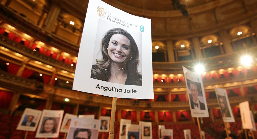 Un retrato de la actriz Angelina Jolie