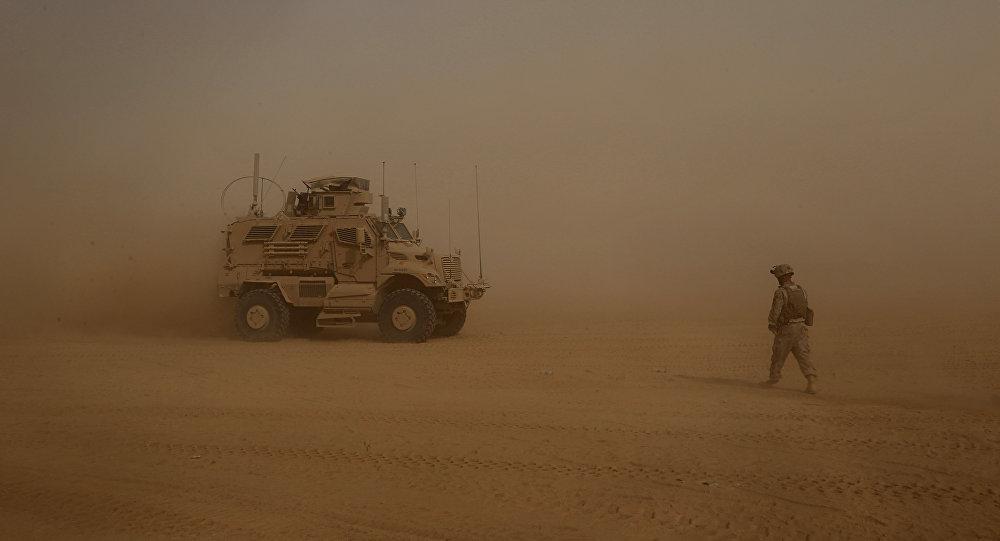 Soldado de EEUU en Oriente Medio