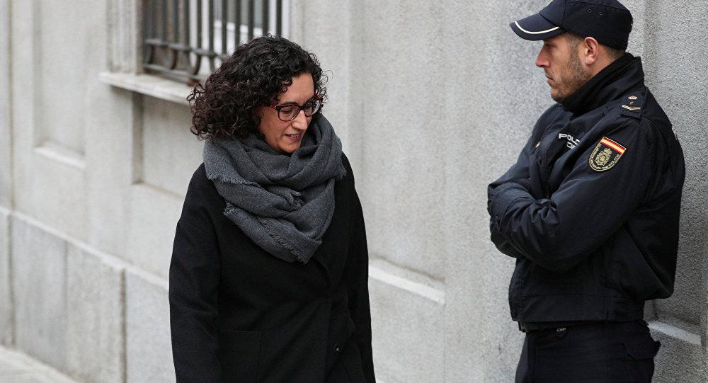 Marta Rovira, secretaria general de Esquerra Republicana de Cataluña