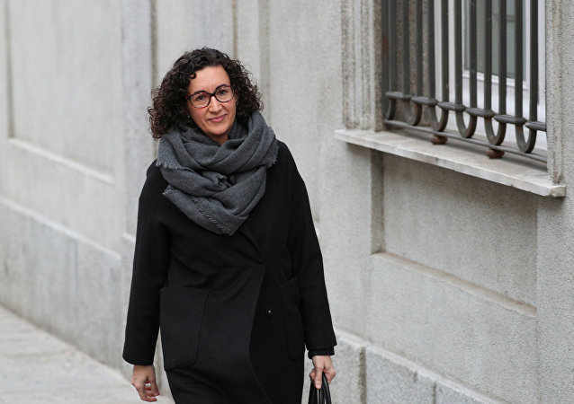 Marta Rovira, secretaria general de Esquerra Republicana de Catalunya