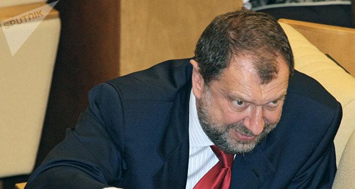 Vladislav Reznik, el diputado ruso (archivo)