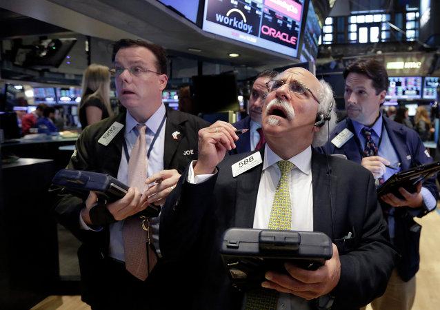 Corredor de la Bolsa de Nueva York Peter Tuchman