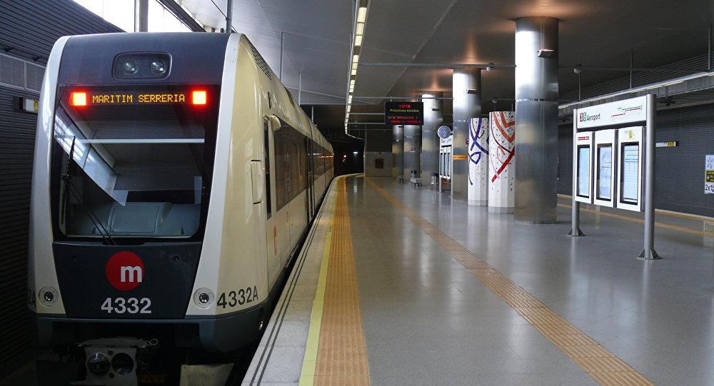 Metro de Valencia, España (archivo)