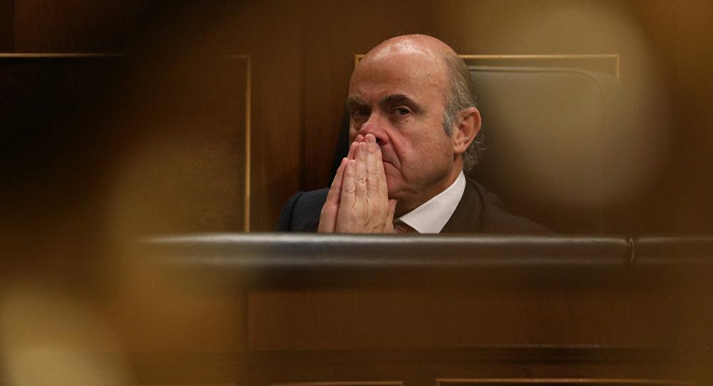 Luis de Guindos, ministro español de Economía