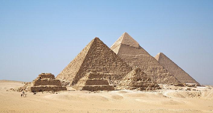 Las famosa pirámides de Giza