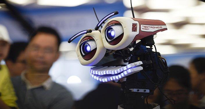 Un robot chino en la Conferencia de Robots Mundial en Pekín (imagen referencial)