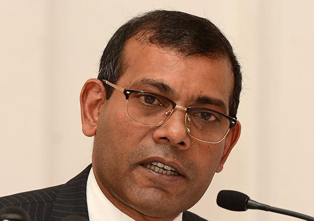 Mohamed Nasheed, expresidente de las Maldivas y líder opositor en el exilio