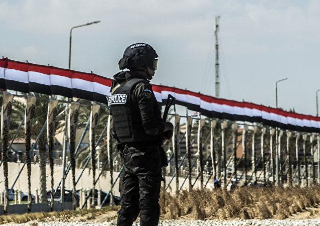 Policía de Egipto (imagen referencial)