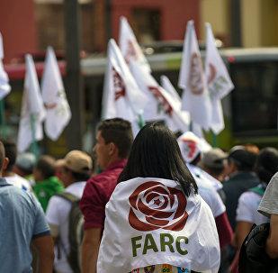Los partidarios de FARC (archivo)